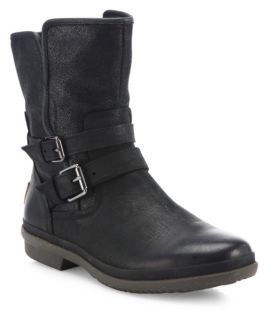UGG Simmens Waterproof Belt Boots $190 thestylecure.com