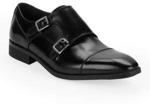 Black & Brown Black Brown Balboa Monk Strap Shoe