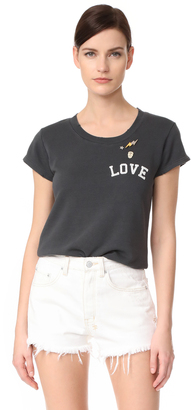 Zadig & Voltaire Love Tee $148 thestylecure.com