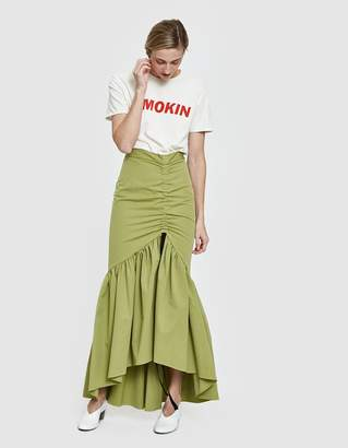 Hellessy Ruben Cinched Maxi Skirt