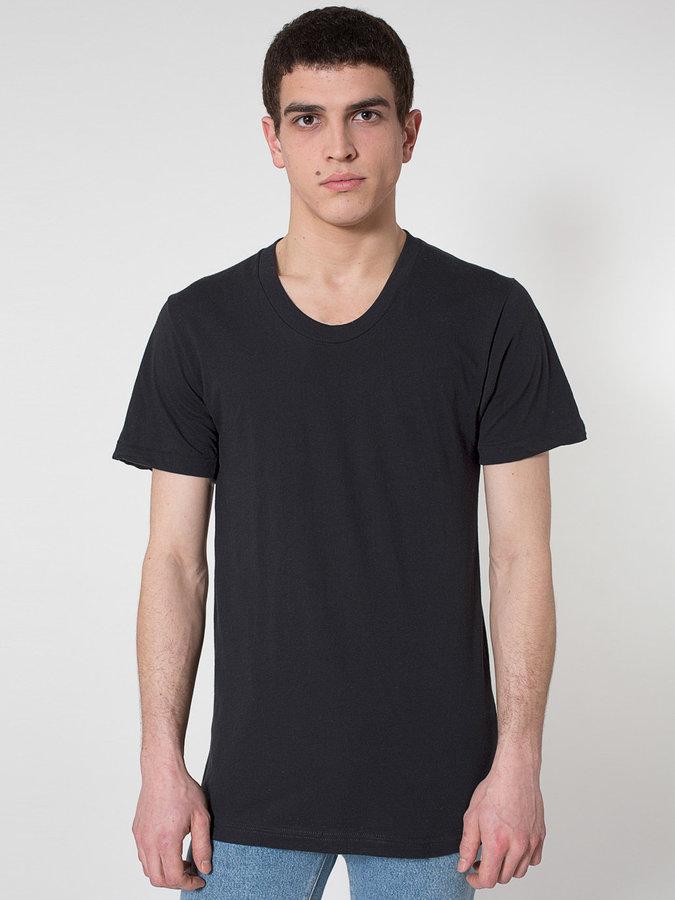 Sheer Jersey Loose Crew Summer T-Shirt