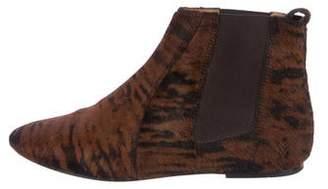 Isabel Marant Ponyhair Flat Ankle Boot