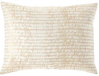 Fino Lino Linen & Lace Twilight Gold King Sham
