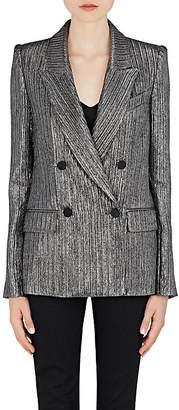 Isabel Marant Women's Denel Metallic Double-Breasted Jacket