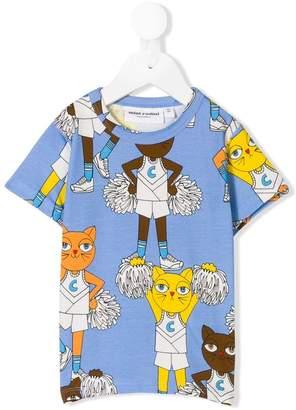 Mini Rodini Cheercats print T-shirt