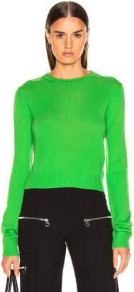 Jil Sander Simple Sweater in Bright Green | FWRD