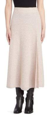 Altuzarra Cavin Cashmere Knit Midi Skirt