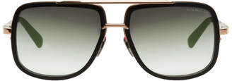 Dita Black and Gold Mach One Sunglasses