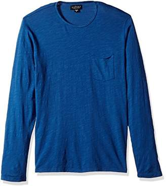 Velvet by Graham & Spencer Men's Long Sleeve Crew W Pocket