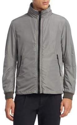 Saks Fifth Avenue COLLECTION BY ESEMPLARE Reversible Sweatshirt Jacket