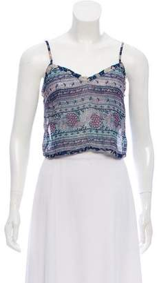 LoveShackFancy Sleeveless Crop Top w/ Tags