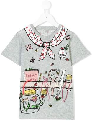 Stella McCartney bug-catcher print T-shirt