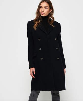 Superdry Duchess Long Wool Coat