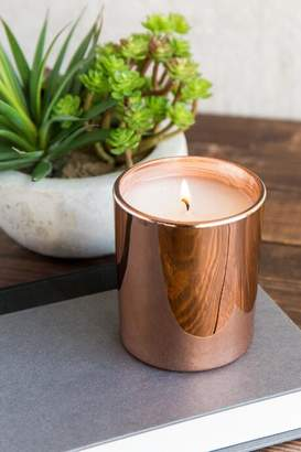 Thymes Rose Gold Simmered Cider Candle Jar