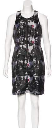 MICHAEL Michael Kors Jacquard Sheath Dress