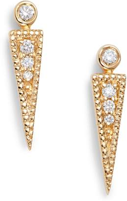 Dana Rebecca Designs Dana Rebecca Samantha Lynn Diamond Dagger Earrings