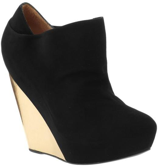 Pura Lopez Wedge Ankle Boot