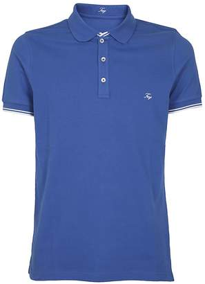 Fay Fitted Logo Polo Shirt