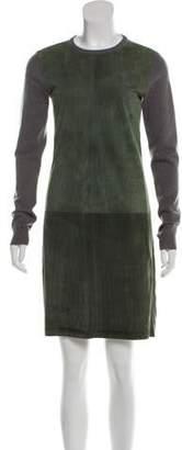 Ralph Lauren Black Label Cashmere Long Sleeve Dress