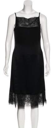 Chanel Silk Midi Dress