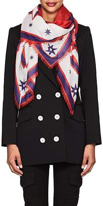 Givenchy Women's Iconic Flash Silk-Cashmere-Blend Scarf