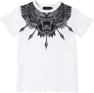 John Richmond Tiger Print Cotton Jersey T-Shirt