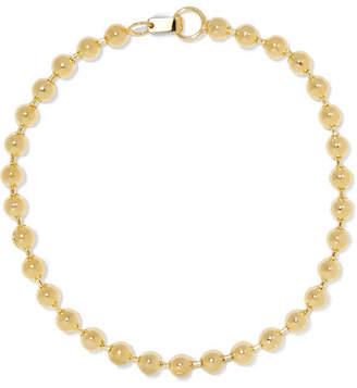 Jennifer Fisher Ball Chain Gold-plated Choker
