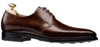 Crockett Jones Crockett & Jones Highbury Plain Toe Shoe in Brown Calf