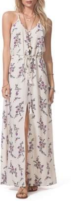 Rip Curl Malia Floral Print Maxi Dress