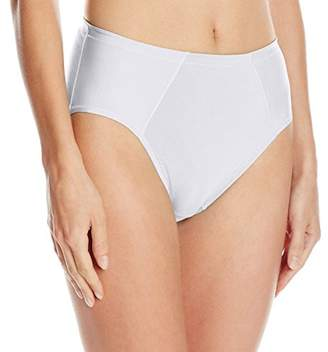 Vanity Fair Women's Cooling Touch Cotton Stretch Hi Cut Panty 13321