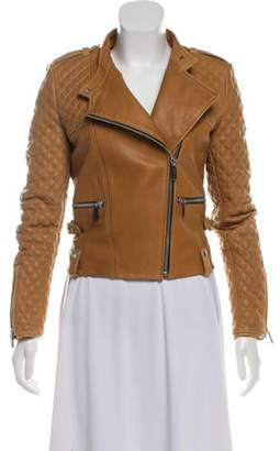 Barbara Bui Quilted Leather Jacket Quilted Leather Jacket