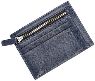 Royce Leather Royce Rfid Blocking Slim Card Case Wallet in Saffiano Leather