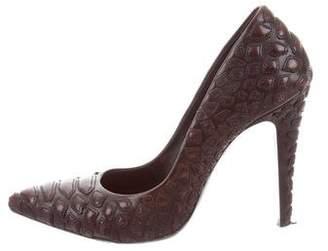 Loriblu Leather Pointed-Toe Pumps
