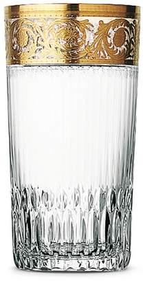 Saint-Louis Crystal Thistle highball glass