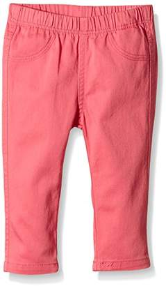 Chicco Baby Girls Trousers - Orange - 6-9 Months