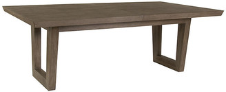 Artistica Brio Rectangular Dining Table - Grigio Warm Gray