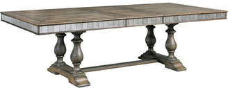 Asstd National Brand Montserrat Wood-Top Dining Table