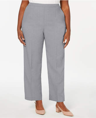 0fa69d832be Alfred Dunner Plus Size Versailles Pull-On Pants
