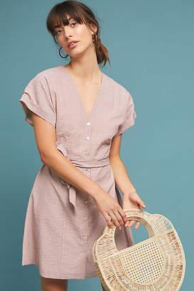 d.RA Terracotta Textured Dress