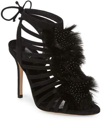 Aperlaï Women's Velukid Stiletto Heels