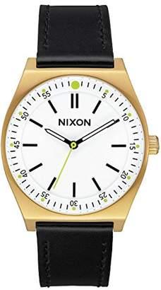 Nixon Women's Analogue Quartz Watch with Leather Strap A1188-2769-00