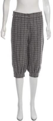 Chanel Wool & Angora-Blend Pants Grey Wool & Angora-Blend Pants