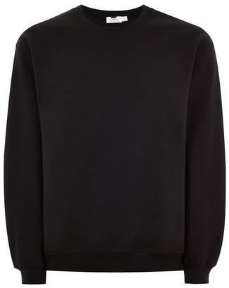 Topman Mens Black Classic Sweatshirt