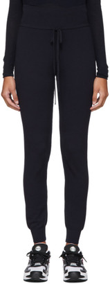 Live The Process Navy Knit High-Waisted Lounge Pants