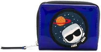 Karl Lagerfeld K/Space zip around wallet