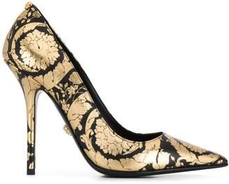 Versace printed pumps