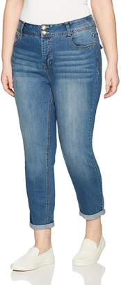 Angels Jeans Women's Curvy Convertible Jean
