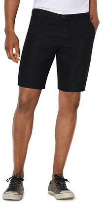 John Varvatos Star USA Linen Slim Fit Shorts $98 thestylecure.com
