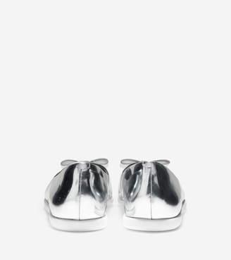 Cole Haan Women's ZERGRAND Bow Skimmer Flat