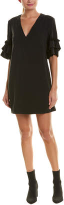 BCBGeneration Ruffle Shift Dress